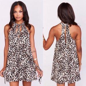 NWT Show Me Your MuMu Tess Dress Cha Cha Cheetah